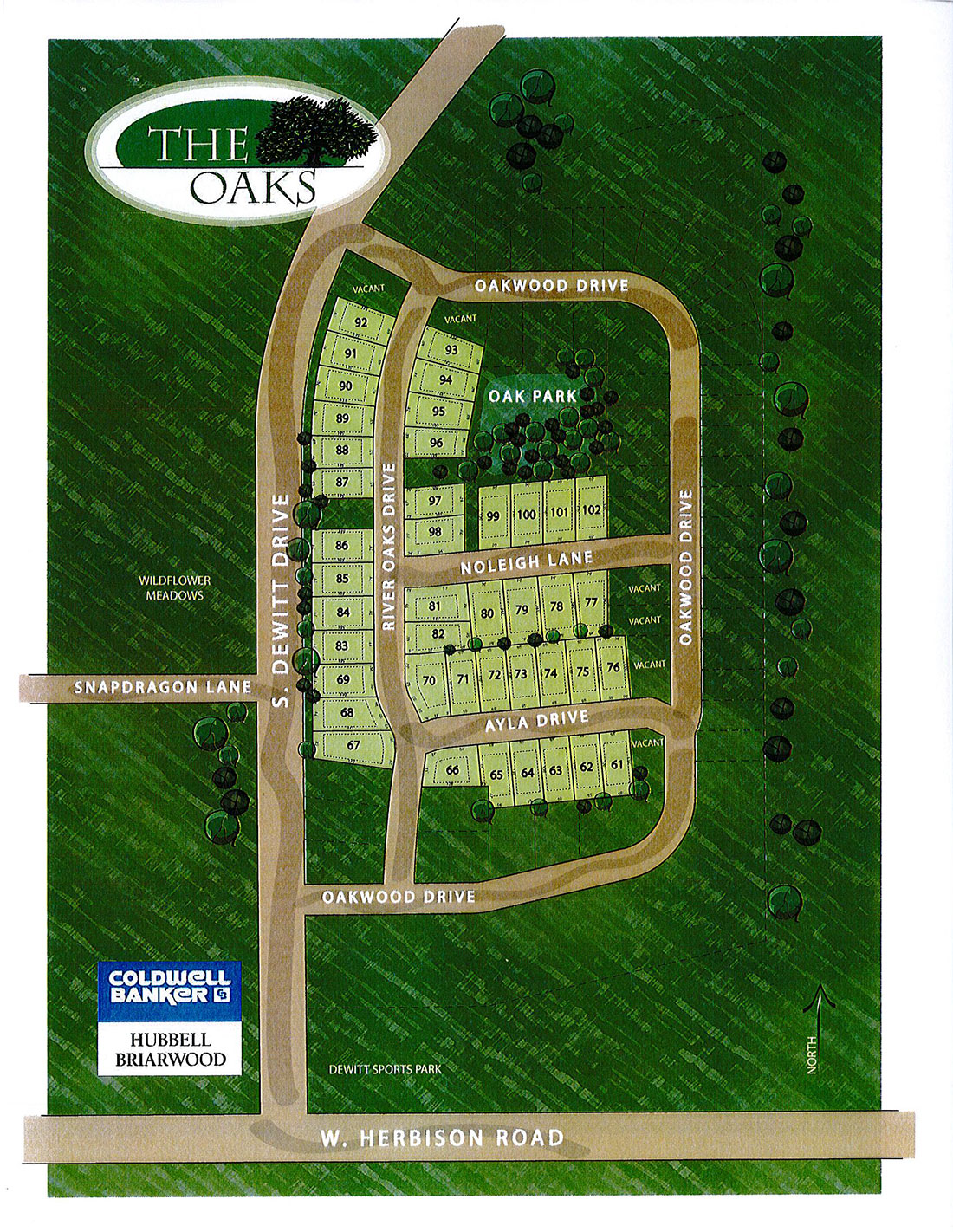 The Oaks Sitemap