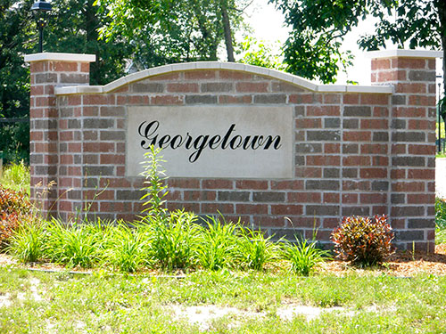 Georgetown Sign