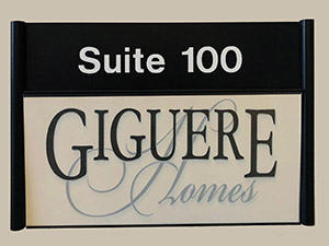 Giguere Homes Sign